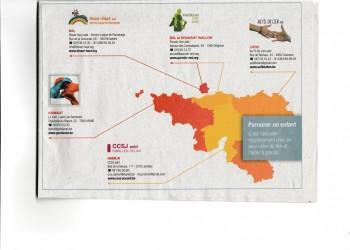 Carte Belgique FR parrainage